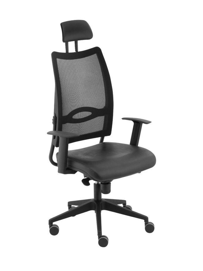 cadeira encosto em tela