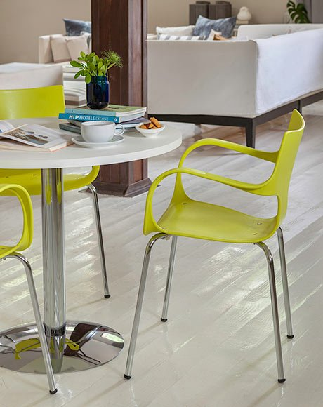 cadeira verde limão