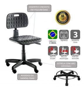 Cadeira Ergonômica industrial