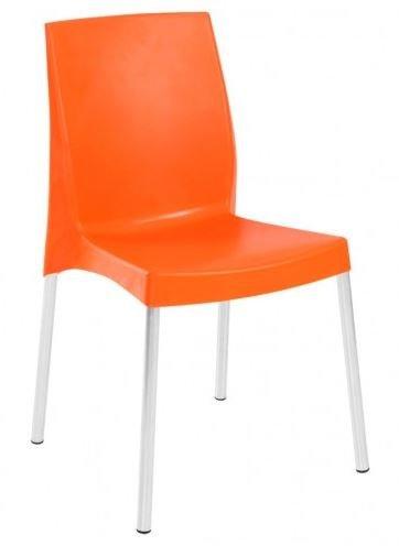 Cadeira de Lanchonete Laranja