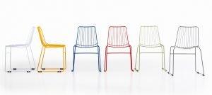cadeira de aço