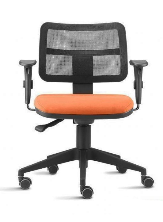 Cadeira agnes fit de escrit rio campinas com encosto em tela for Altura escritorio ergonomico