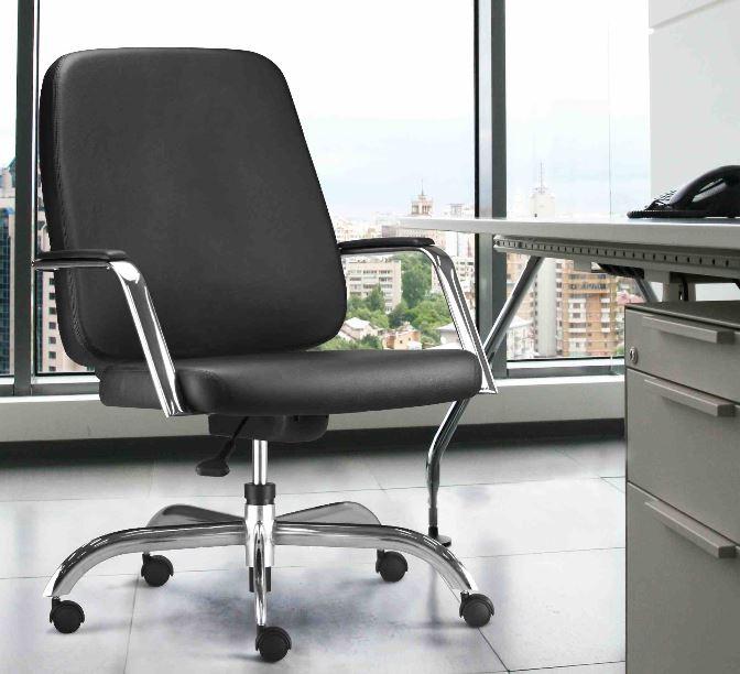Cadeira para obesos max ambientada