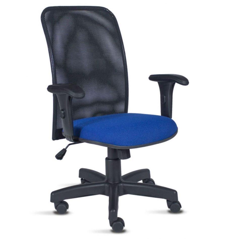 Cadeira tela marine assento azul