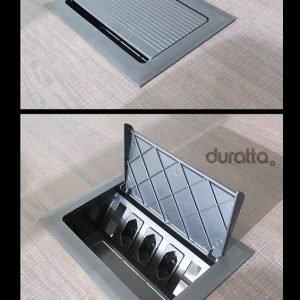 caixa de tomadas para mesa de reunião