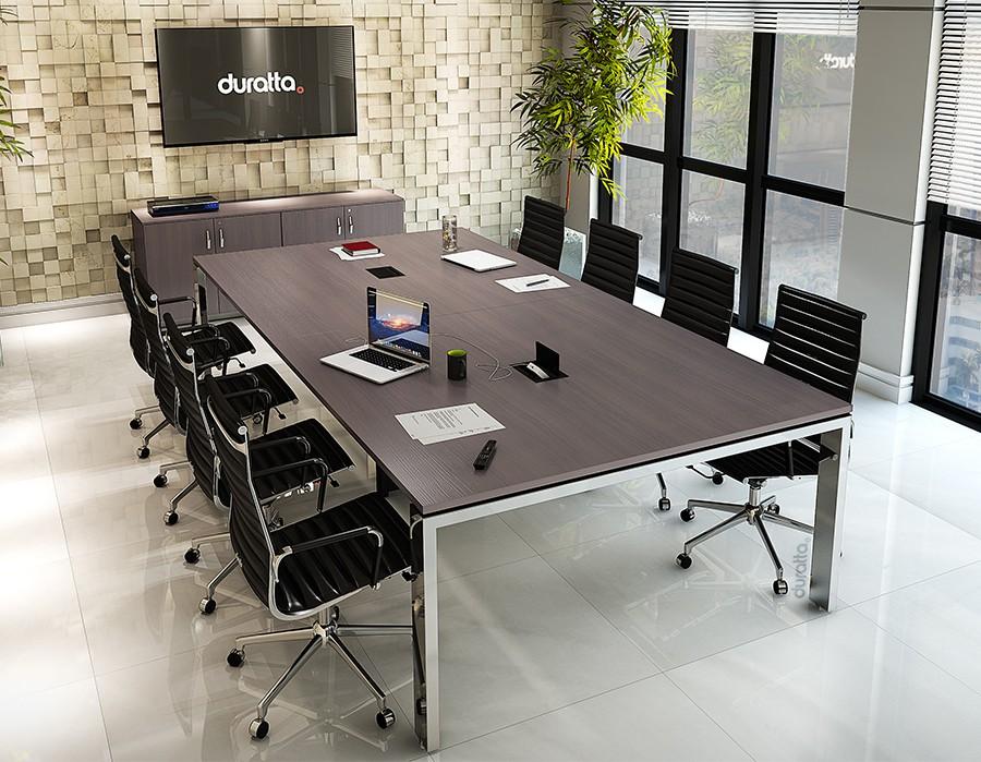 Mesa de reuni o cadeiras de escrit rio diversos modelos for Mesas de escritorio modernas