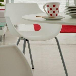 cadeira jantar branca