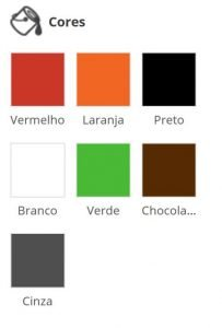 cores cadeira design