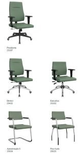 cadeira diretor - modelos
