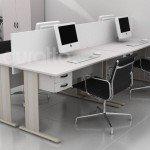 mesa reta - estação de trabalho