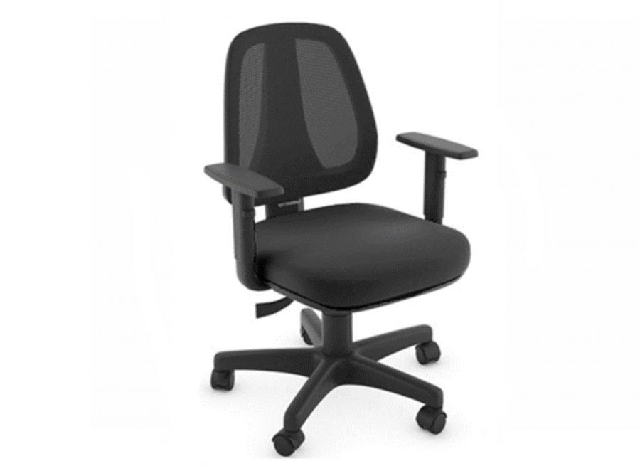 cadeira de escritório com braço