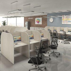 Mesas para Call Center e Telemarketing
