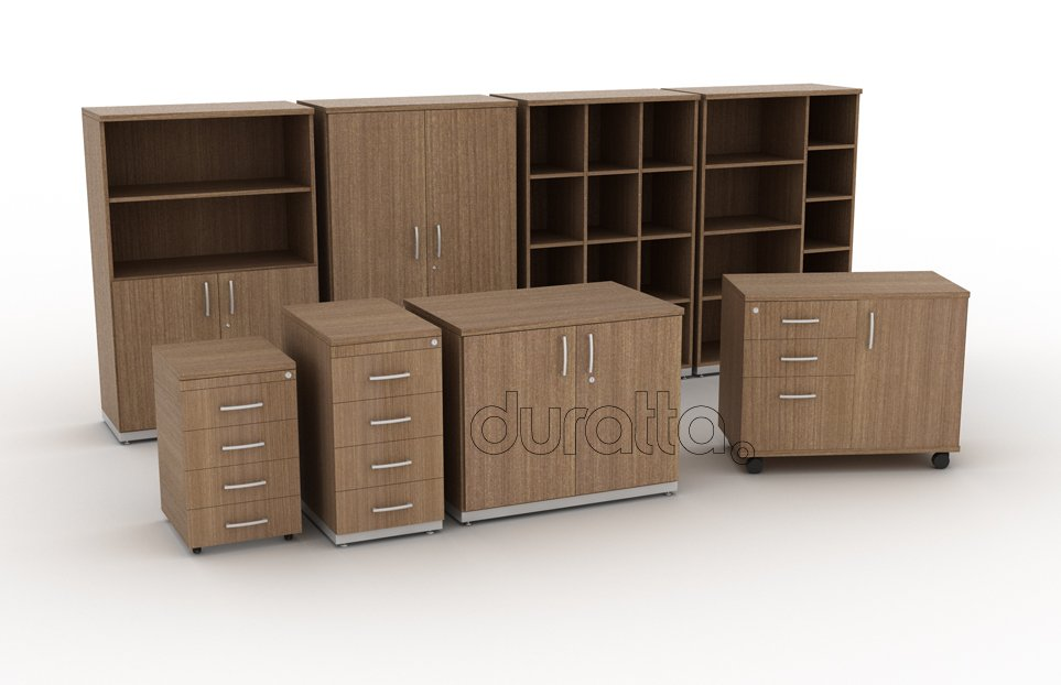 Artesanato Simples ~ Armário Baixo 075 Duratta Móveis para escritório Campinas