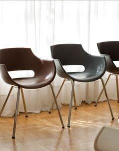 cadeira design - pés metal