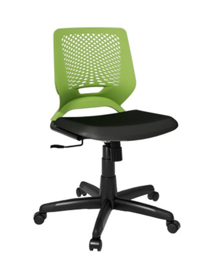 cadeira de escritório viz sem braços