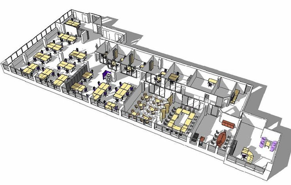 Home Office Layout Furniture Placement