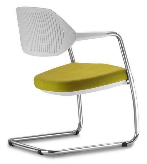 Cadeira Fixa Branca - Dallas
