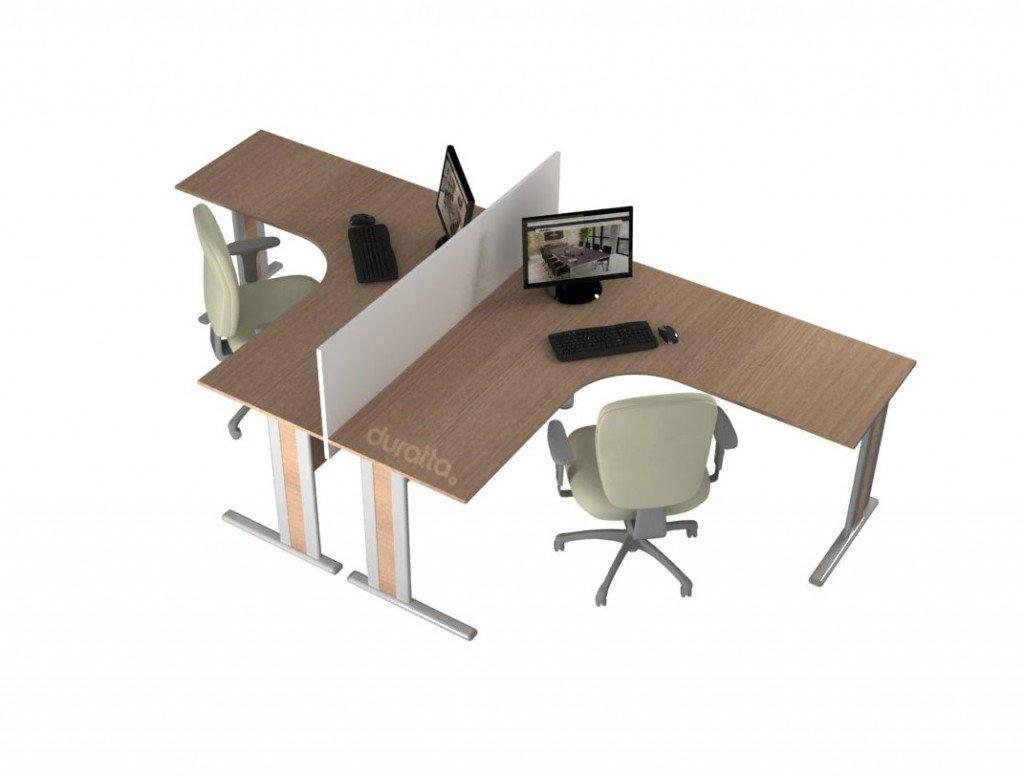 conjunto de mesa delta office