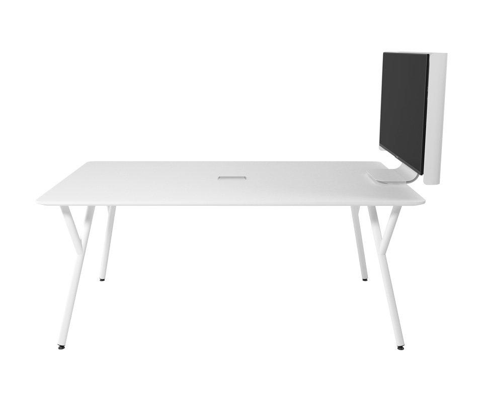 Mesa de Reunião Com Suporte Para TV 180×105