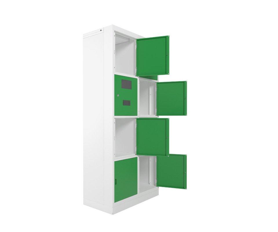 Armário Eletrônico portas verdes