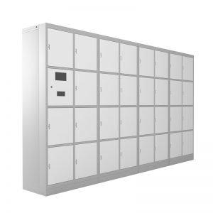 armário Eletrônico com 32 portas