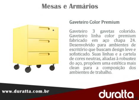 Gaveteiro color premium