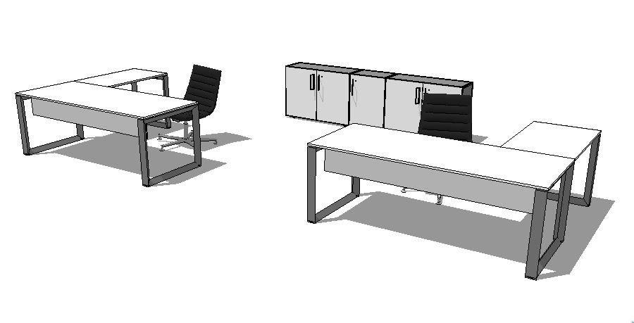 mesa diretoria mesa em L