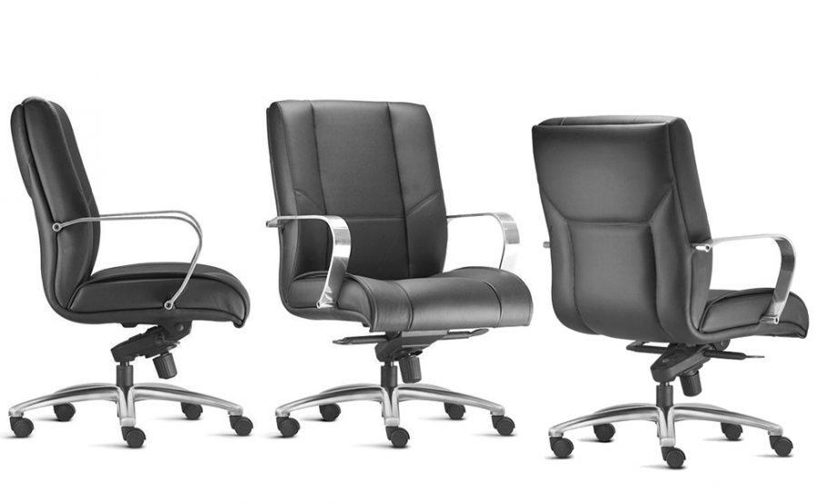 Cadeira presidente baixa