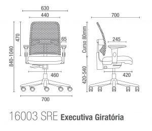 cadeira tela medidas