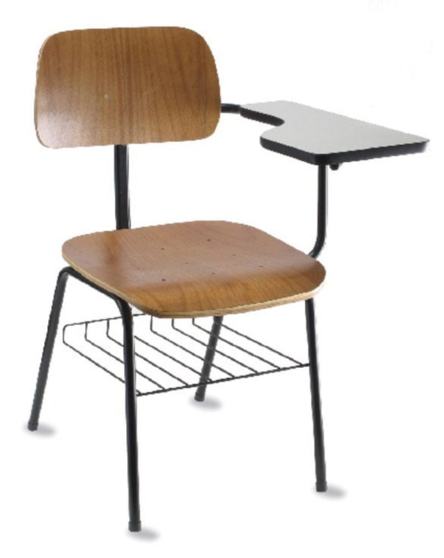 Cadeira universitária madeira