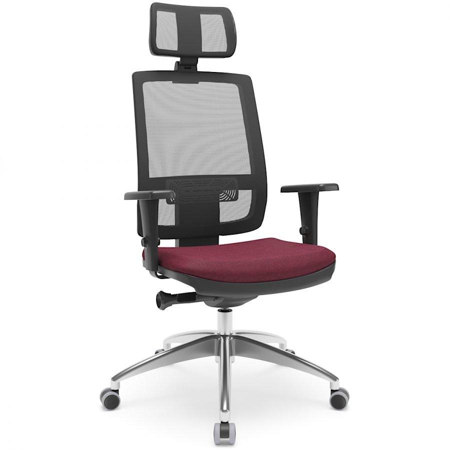 cadeira com encosto de cabeça