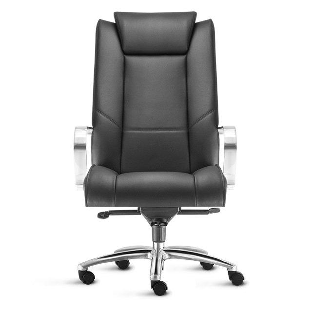 cadeira presidente alta preta