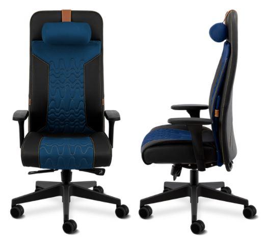 Cadeira Way Gamer Cavaletti Azul